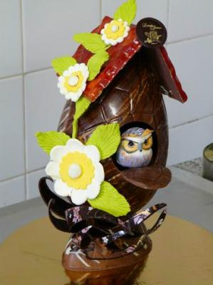 Chocolatier 60 paques nichoir2