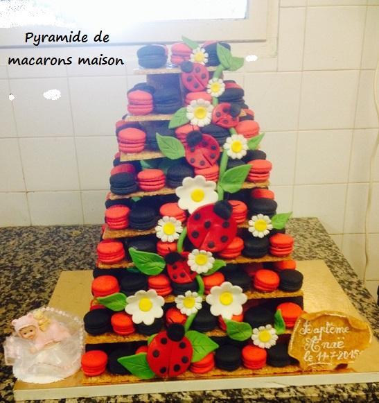 Pyramide de macarons  oise 60