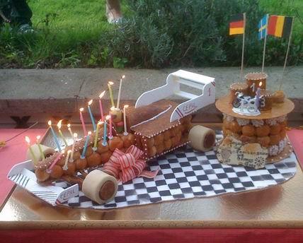 anniversaire pâtisserie 60 modèle F1