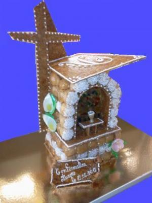boulanger pâtissier chocolatier 60 modèle pièce montée communion chapelle