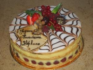 gâteau anniversaire Beauvais pâtissier
